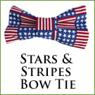 KocoKookie Bow Tie - Stars And Stripes