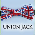 KocoKookie Bow Tie - Union Jack
