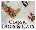 KocoKookie Christmas Bandanas - Classic Dogs And Hats