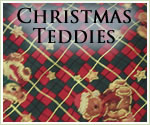 KocoKookie Christmas Bandanas - Christmas Teddies