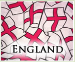 KocoKookie Football Bandanas - England