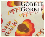 KocoKookie Thanksgiving Bandanas - Gobble Gobble