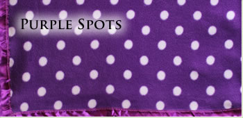 KocoKookie Pet Blankets - Purple Spots