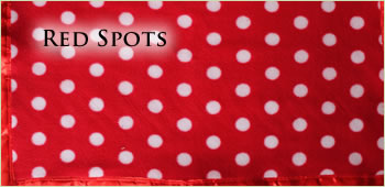 KocoKookie Pet Blankets - Red Spots