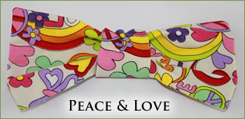 KocoKookie Bow Tie - Peace And Love