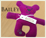 KocoKookie Dog Toys - Funky Friends - Bailey - Hot Pink