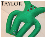 KocoKookie Dog Toys - Funky Friends - Taylor Long Arm - Emerald