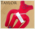 KocoKookie Dog Toys - Funky Friends - Taylor Long Arm - Red